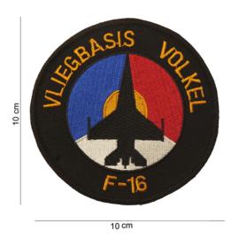 Embleem Vliegbasis Volkel F-16