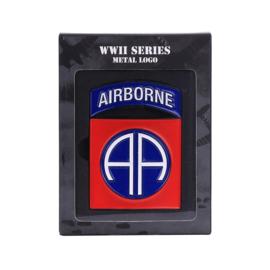 82nd Airborne Logo Metaal