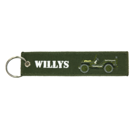 Sleutelhanger Willy Jeep
