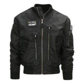 F35 Flight jacket zwart