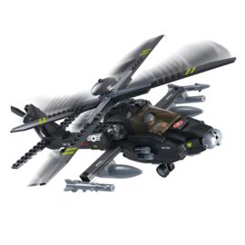 Sluban Apache Helicopter B0511