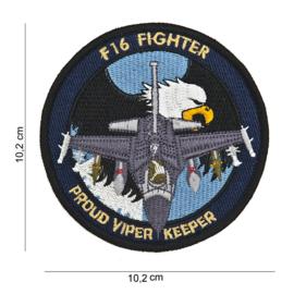 Embleem Stof F-16 Fighter