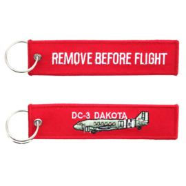 Sleutelhanger DC-3 Dakota RBF
