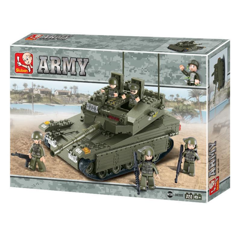 Sluban Merkava Tank B0305-3