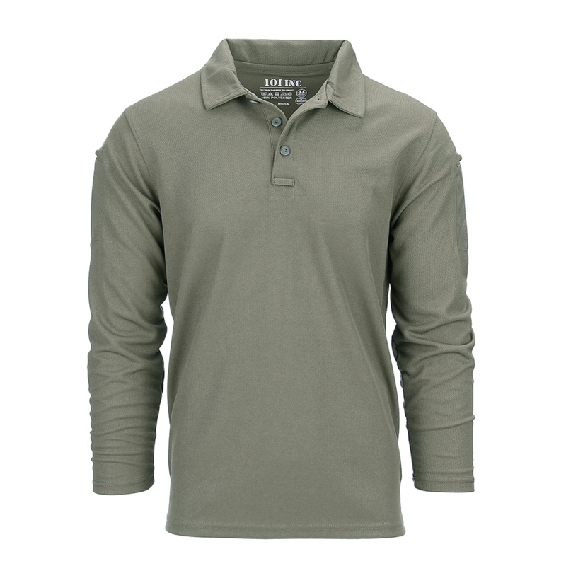 Tactical polo Quick Dry lange mouw