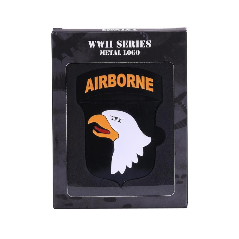 101st Airborne Logo Metaal