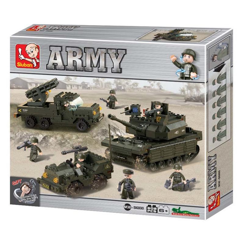 Armyset groot