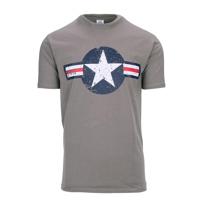 T-shirt USAF Grijs