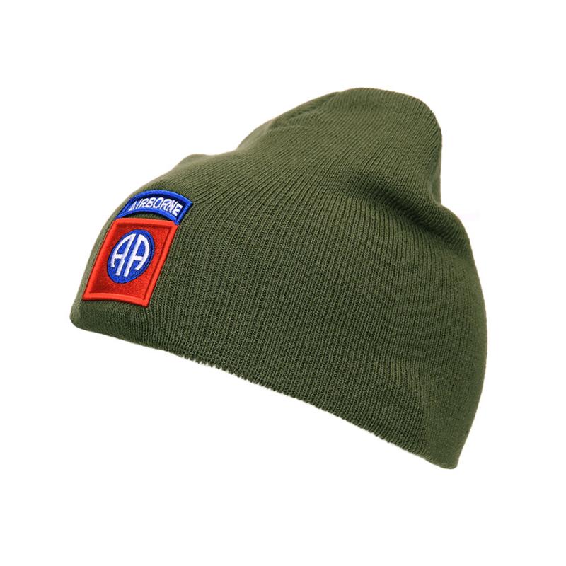Beanie 82nd Airborne Groen