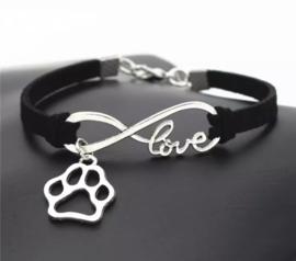 Armband- infinity love 🐾