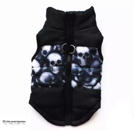 Waterproof/gewatteerd jasje- Skulls
