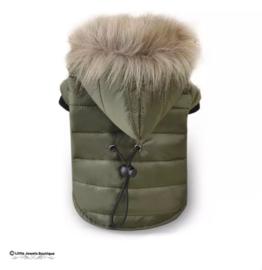 Waterproof jasje- faux fur