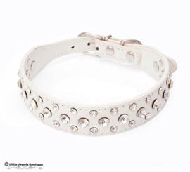 Halsband met strass stenen