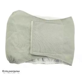 Plasband- grijs