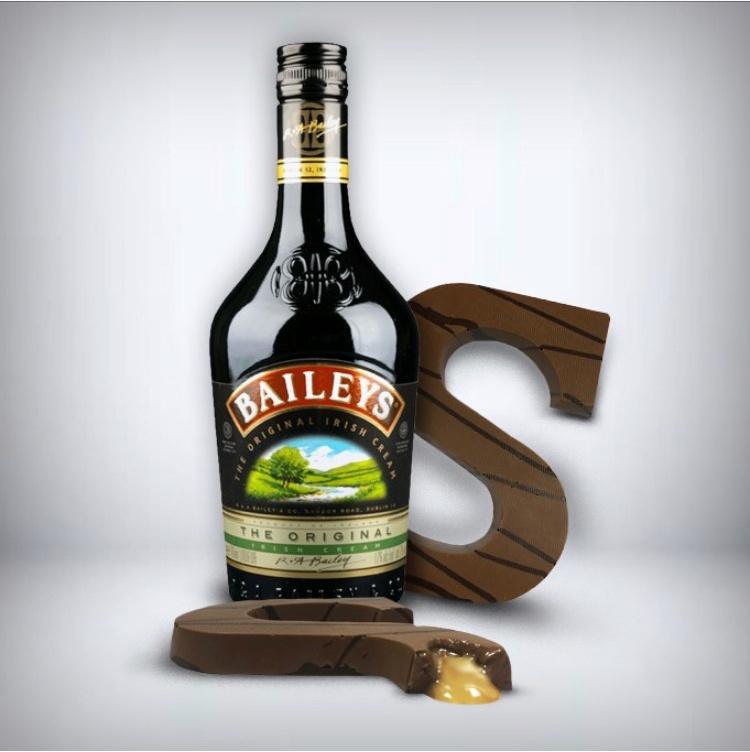 Gevulde Baileys Chocoladeletter