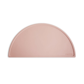 Mushie siliconen mat / Blush