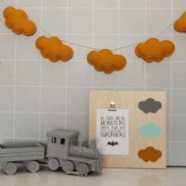 Wolken slinger / Oker