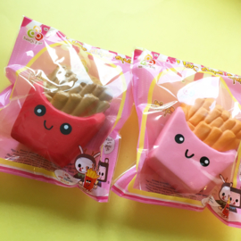 NL - Squishy French Fries Red / Pink (6 PCS)