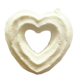 Deco Squishy Heart Donut Small - DIY squishy! (12 PCS)