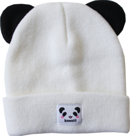 MostCutest.NL kawaii beanie pink / white (6 PCS)