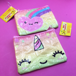 MostCutest.NL Unicorn/Rainbow coin purse (6 PCS)