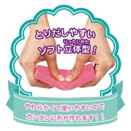 DIY - Kutsuwa Cake Flexible Clay Mold (5 PCS)