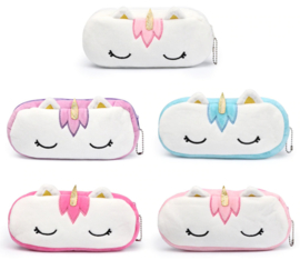 Pencil pouch plushie unicorn (5 PCS)