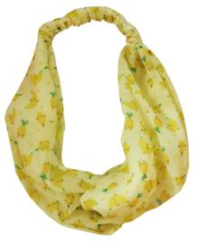 MostCutest.NL bandana pink / yellow (6 PCS)