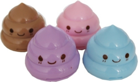 Pencil sharpener kawaii poo (12 PCS)