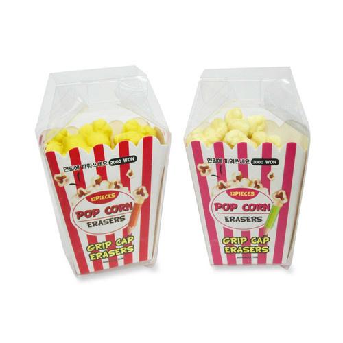 Eraser set Popcorn (6 PCS)