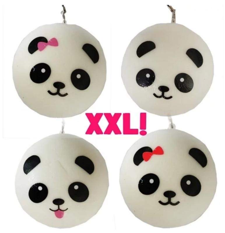 Squishy panda bun XXL (8 PCS)