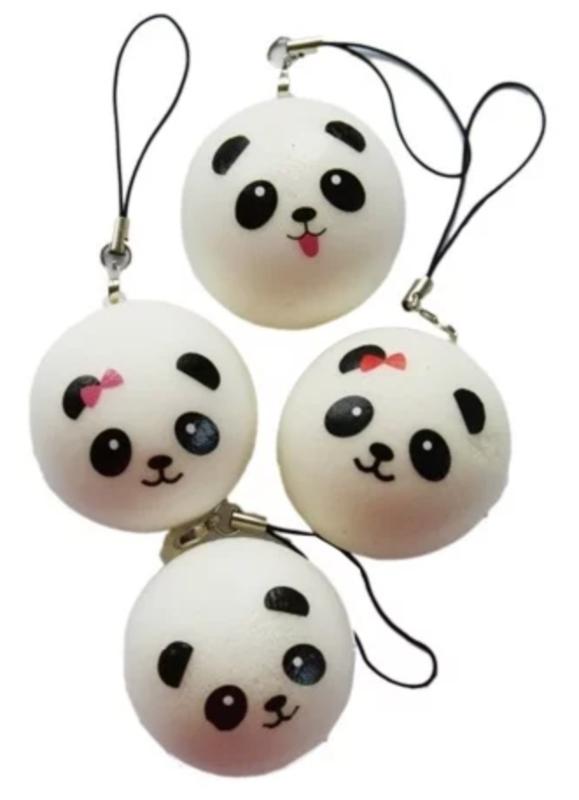 Squishy panda bun small (12 PCS)