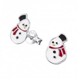 Kinderoorbellen sneeuwpop