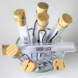 'Good luck'
