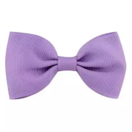 Haarlokspeld met strik paars