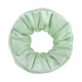 Scrunchie velvet mint