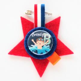 Medaille zwemdiploma B