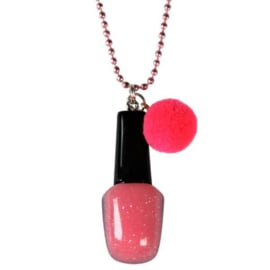 Kinderketting met nagellak