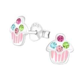 Oorbellen cupcake