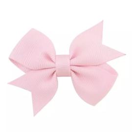 Klein haarstrikje roze