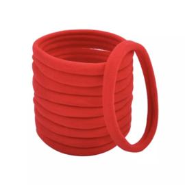Basis haarelastiek rood