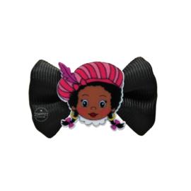Haarstrikje klein Zwarte Piet