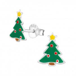 Oorbellen kerstboom
