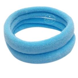 Basis haarelastiek lichtblauw
