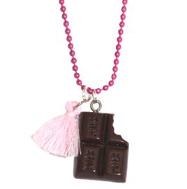 Kinderketting chocolade