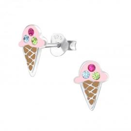 Oorbellen ijsjes