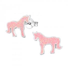 Kinderoorbellen unicorn glitters
