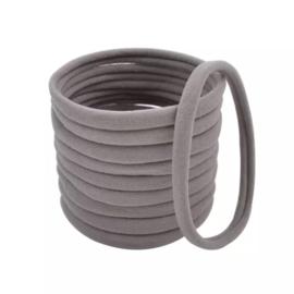 Basis haarelastiek grijs