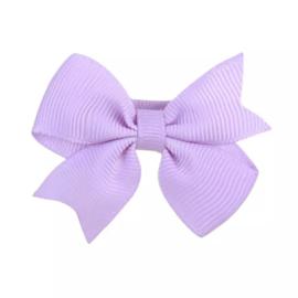 Haarstrik klein lila paars