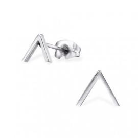 Kinderoorbellen chirurgisch staal driehoek